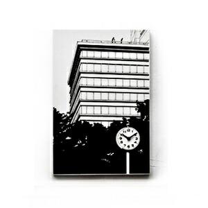「ビルの見える公園」ウォールクロック