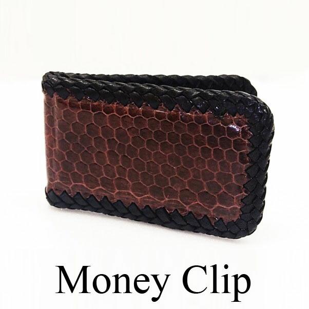 b24a98a6c64d 海外ではよく使用されるマネークリップ! スマートにお札を携帯でき、大人の男性にオススメ☆ リザードのシンプルな本革マネークリップ!