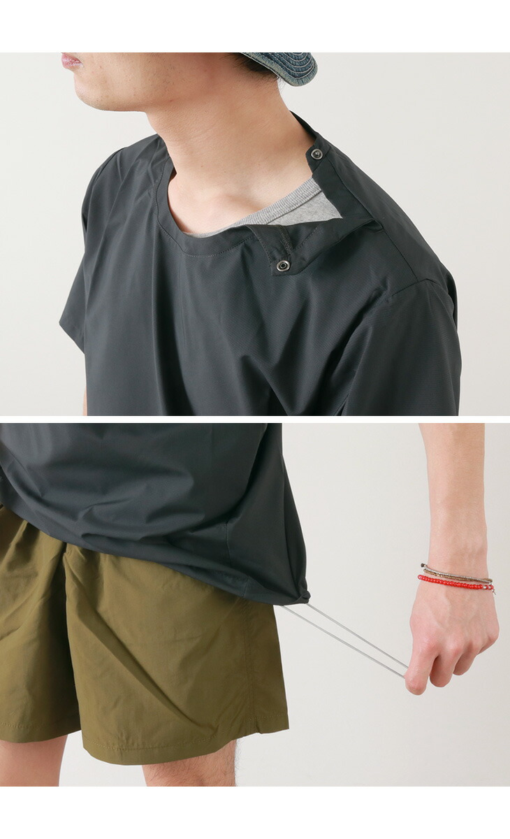 HOUDINI (フディーニ / フーディニ) weather T-shirt / short sleeves plain fabric /  water repellency dry / outdoor sports / men / Weather Tee