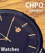 スウェーデデン生まれの腕時計。