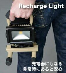 投光器をモチーフにしたインテリアワークライト。