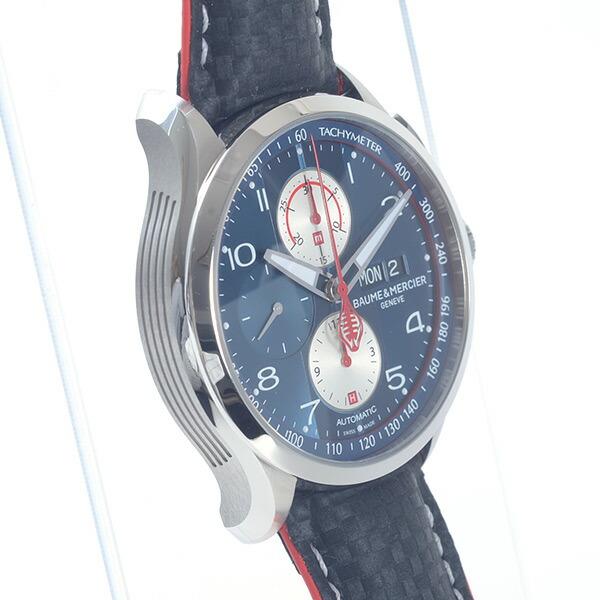 ボームアンドメルシー BAUME&MERCIER ケープランド シェルビー コブラ 1964 型番 MOA10343 未使用品 ステンレス