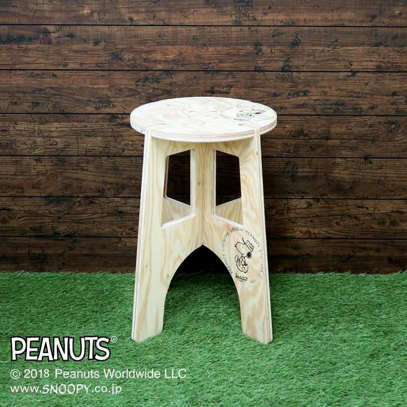 Peanuts Life Work Design MOOD スツール