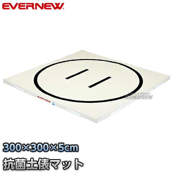【EVERNEW・エバニュー 体操】抗菌土俵マット 300×300cm EKM503