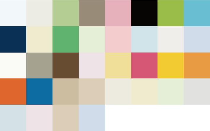 TKWアルミブラインドは色数豊富!