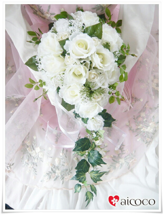 Romanrose rakuten global market high quality artificial flowers wedding bouquet dress izmirmasajfo