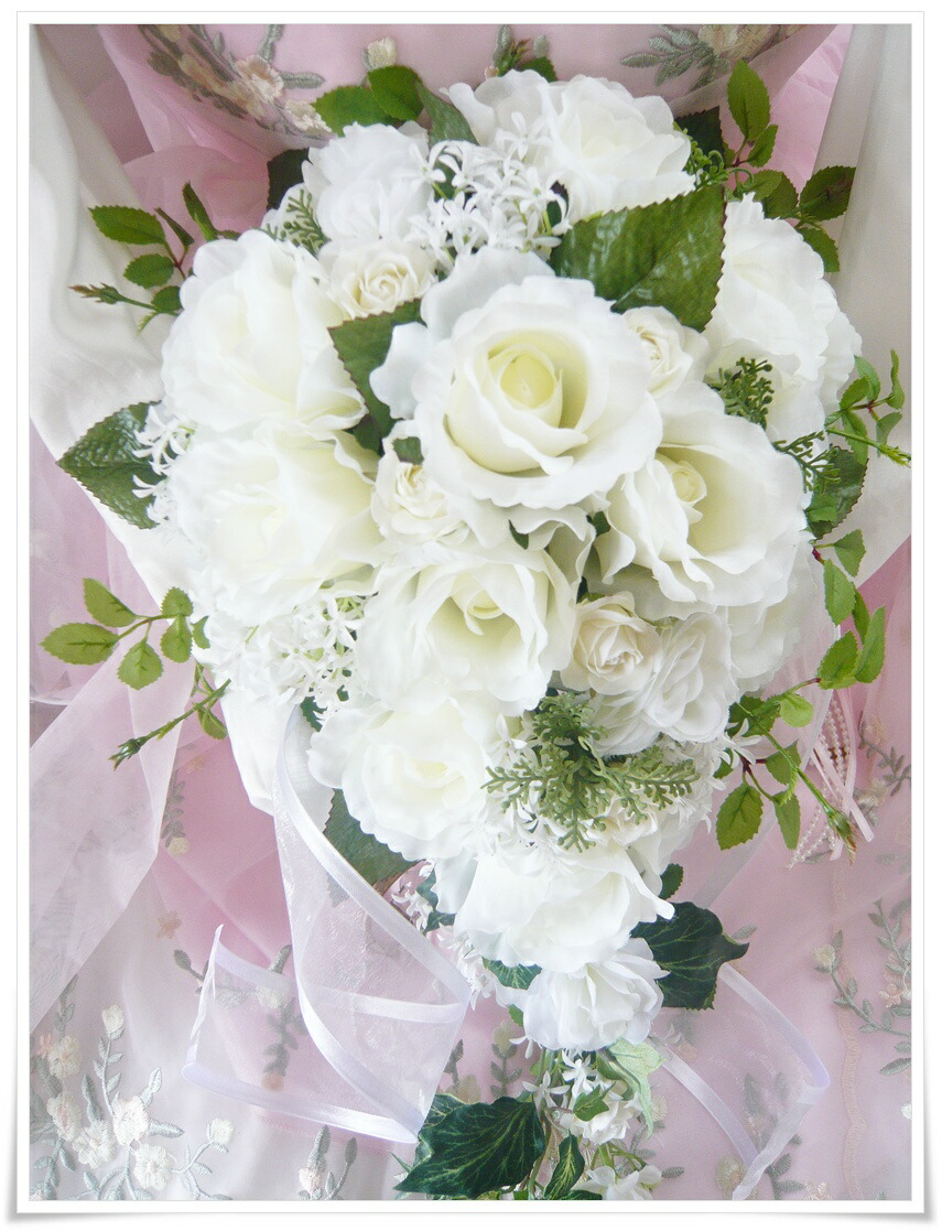 Romanrose rakuten global market high quality artificial flowers matching your bouquet and head accessories can be included optionally 10 u pin and the corolla wedding bouquet with a cute izmirmasajfo