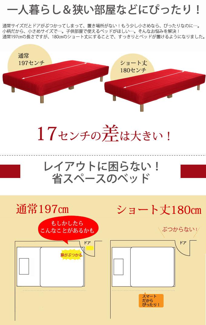 省スペースのベッド