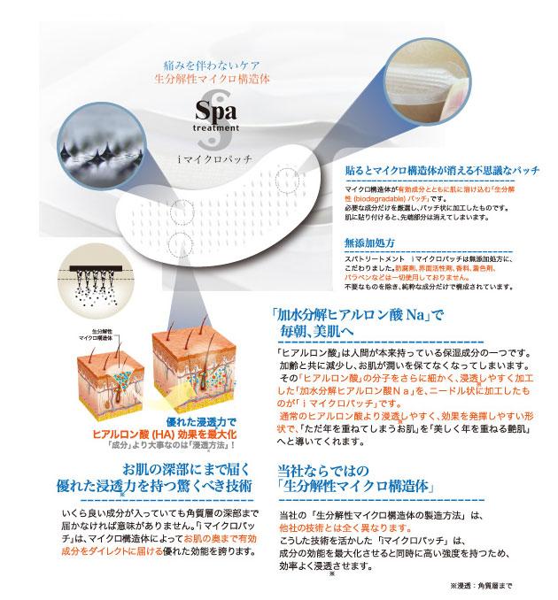 spatreatmentスパトリートメントiマイクロパッチ2枚×50セット業務用