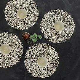 Chilewich(チルウィッチ)ランチョンマット ペタル 円形