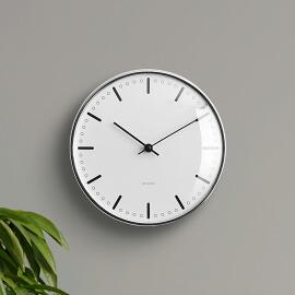 ARNE JACOBSEN wall clock CITYHALL 210mm