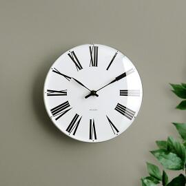 ARNE JACOBSEN wall clock ROMAN 210mm