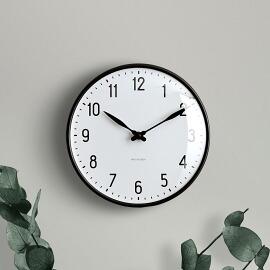 ARNE JACOBSEN wall clock STATION 210mm