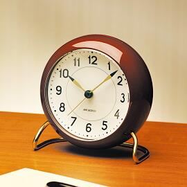 ARNE JACOBSEN table clock STATION 限定カラー
