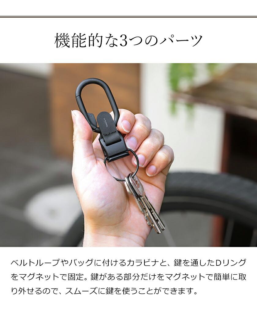 鍵を素早く取り出せるキーケース