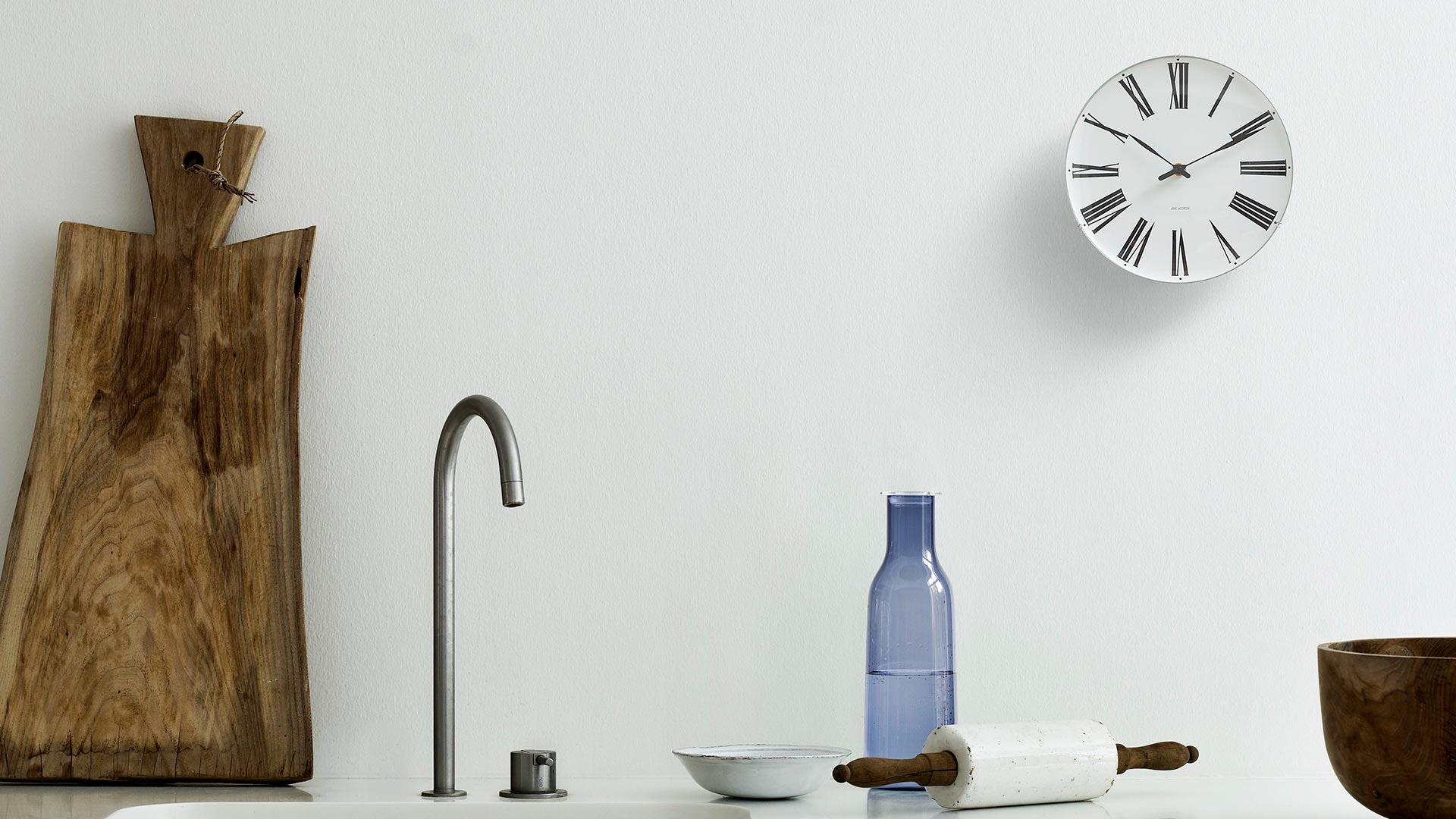 ARNE JACOBSEN ROMAN / アルネ・ヤコブセン ローマン ウォールクロック 掛け時計