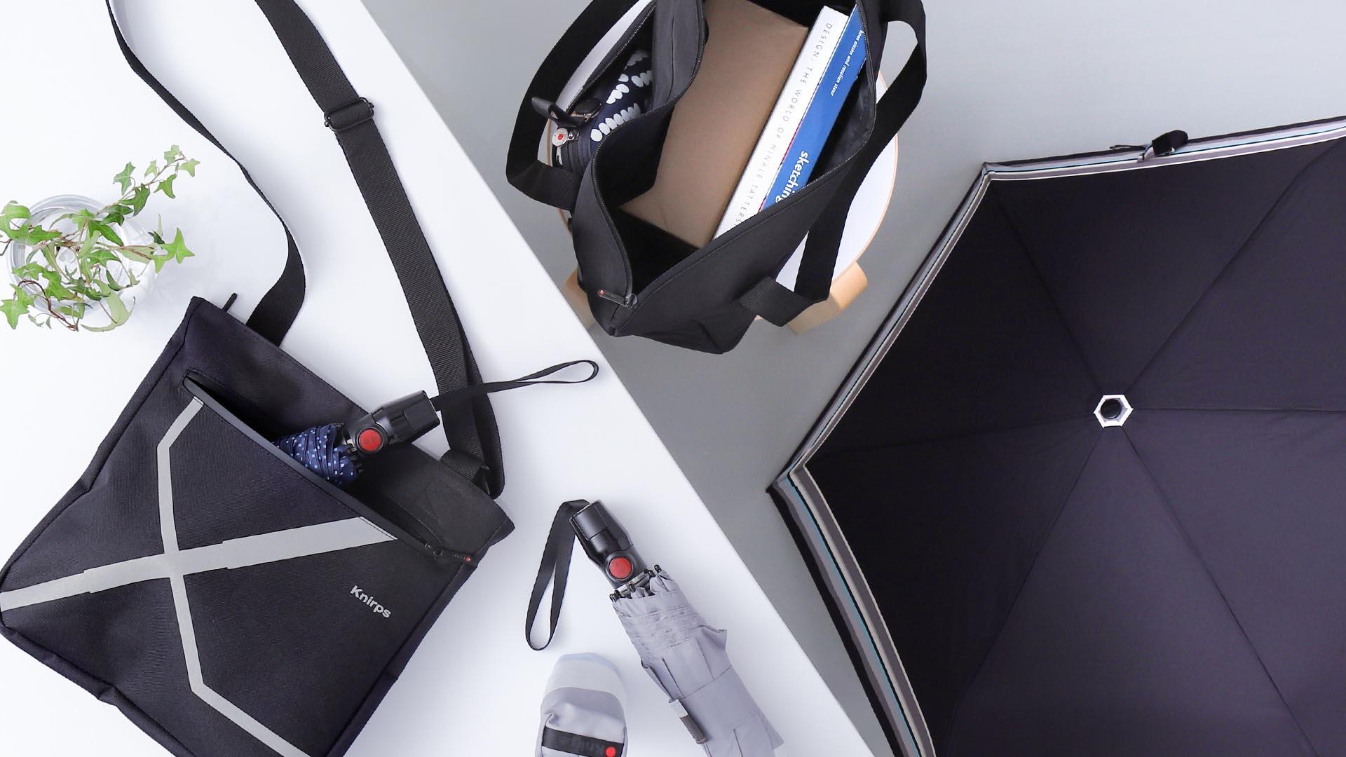 レイングッズ特集 2021 / インテリアショップroomy | Knirps Crossover Bag / クニルプス クロスオーバー バッグ