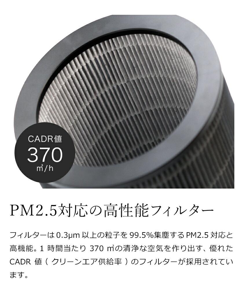 PM2.5対応フィルター