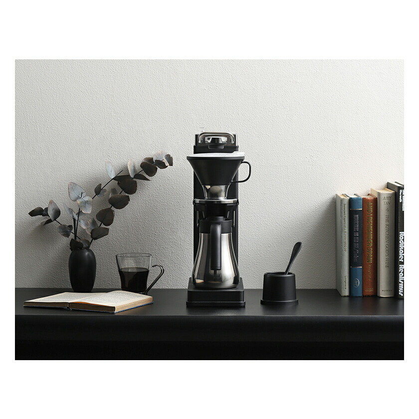 マイコンによる温度制御により上質なドリップコーヒーを抽出するBALMUDAのコーヒーメーカー