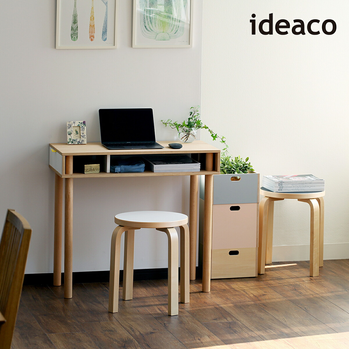ideaco PLYWOOD series Pallet PCH / イデアコ プライウッドシリーズ パレット PCH