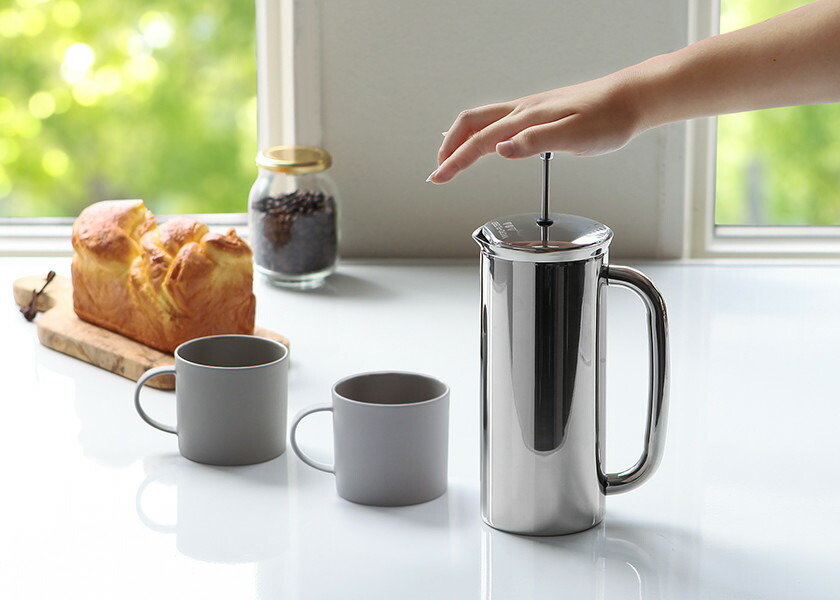 コーヒー フレンチプレス ステンレス