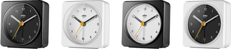 BRAUN ブラウン 置き時計 BC03