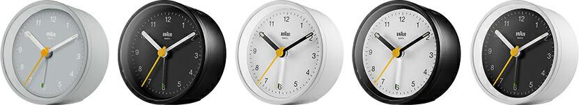 BRAUN ブラウン 置き時計 BC12