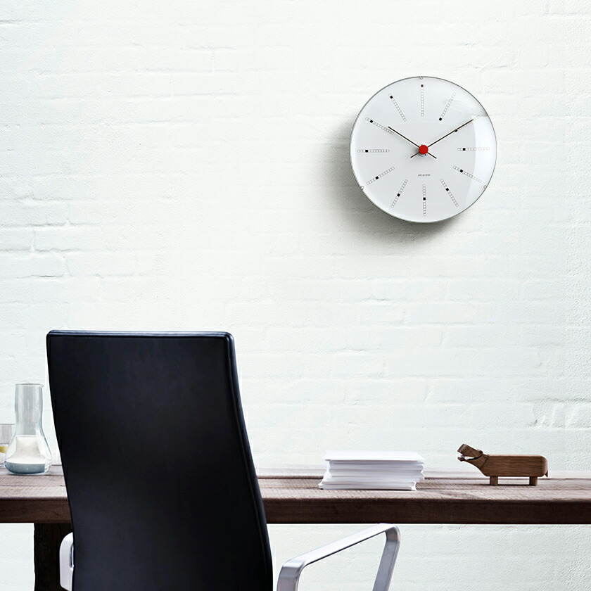 ARNE JACOBSEN BANKERS 掛け時計