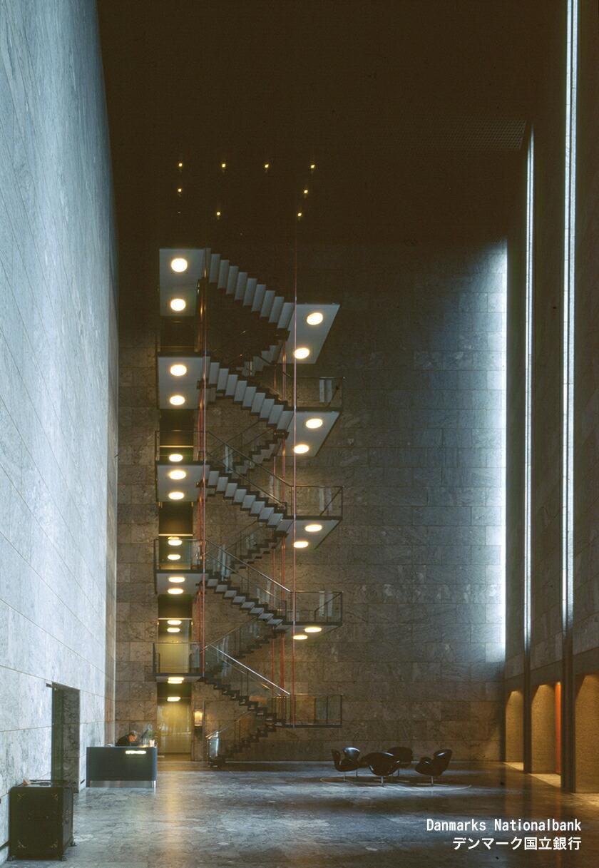 アルネヤコブセン作のデンマーク国立銀行