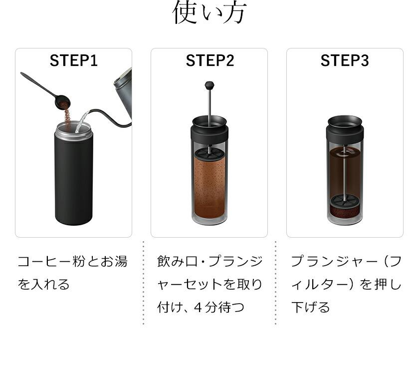 Vitantonioコーヒープレスボトルコトルのコーヒープレスフィルター