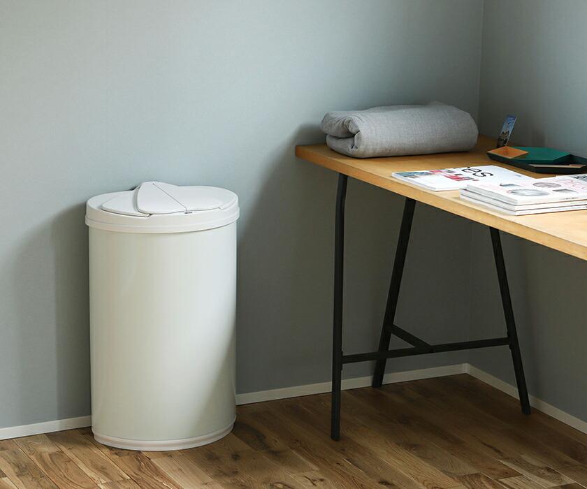 袋が見えず生活感を隠せるダストボックス DiETZセンサー式ゴミ箱