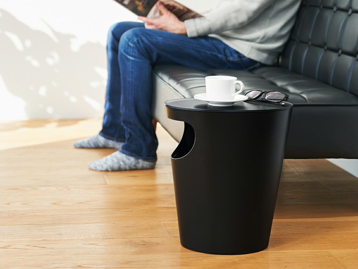 ENOTS エノッツ サイドテーブル カラー ブラック