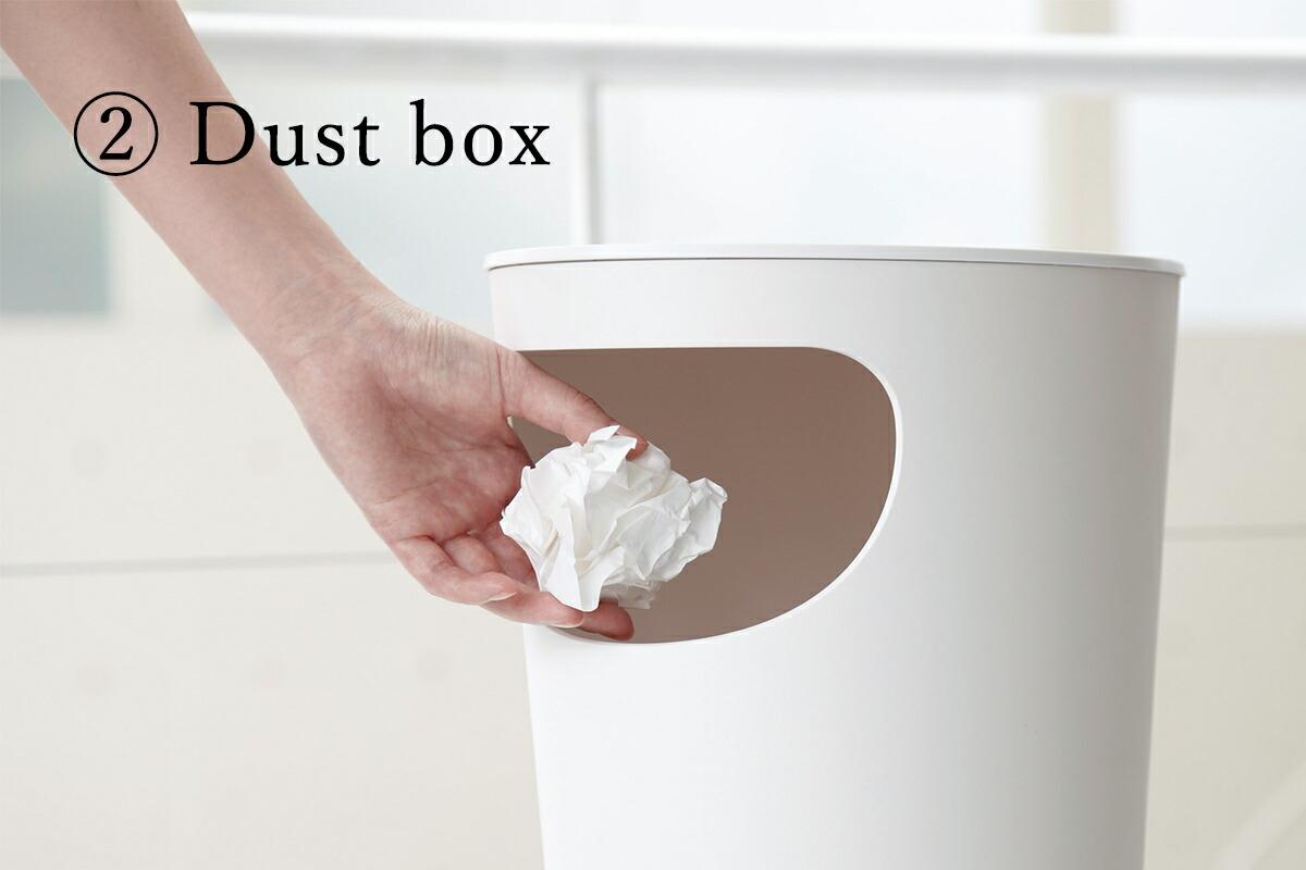 ENOTS エノッツ サイドテーブル ゴミ箱 ダストボックス