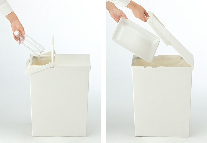 フタ付きのゴミ箱