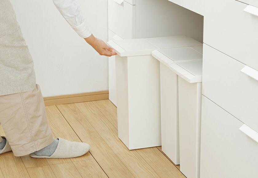 キッチンにぴったりのゴミ箱