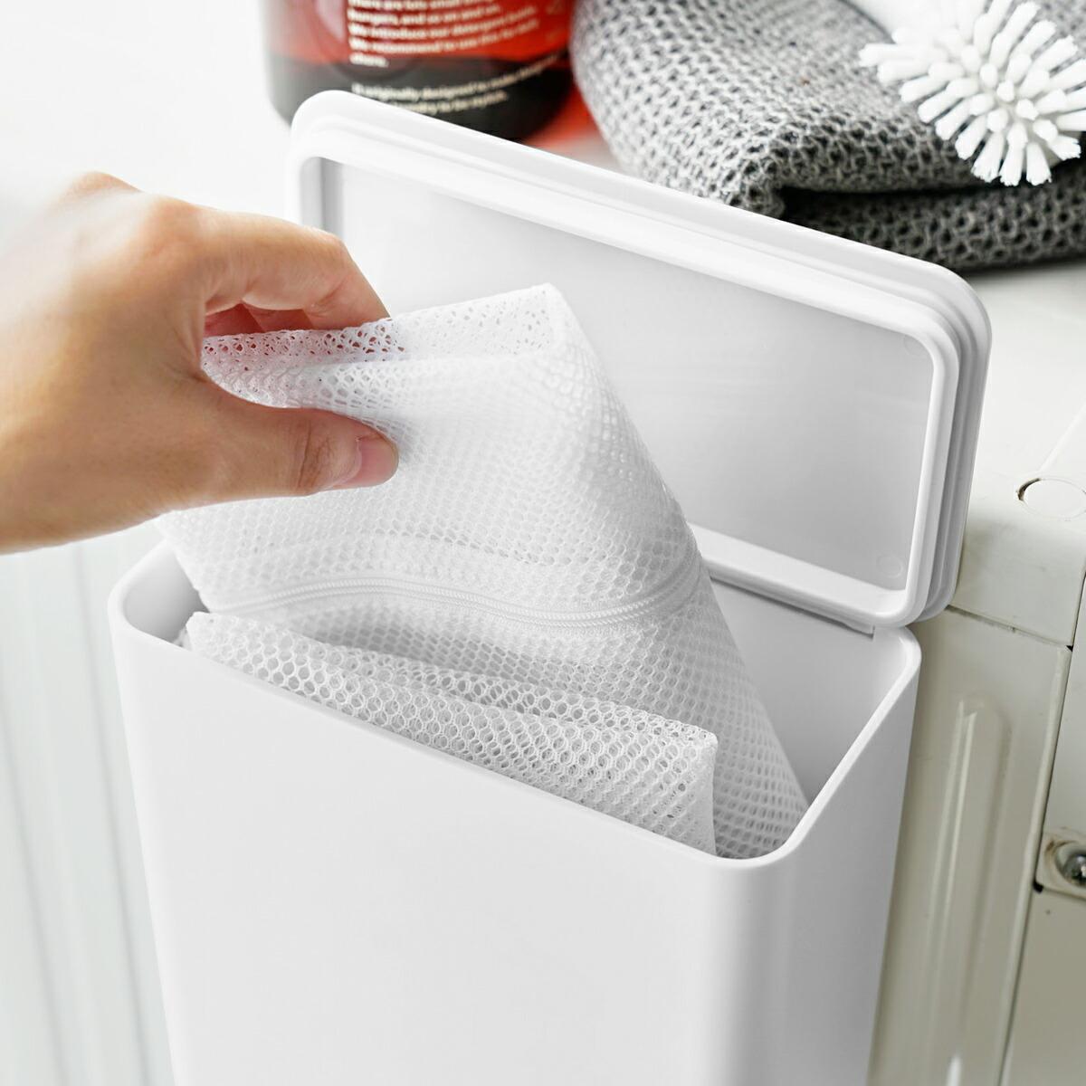 tower / タワー マグネット洗濯洗剤ボールストッカー 磁石 収納 ランドリー