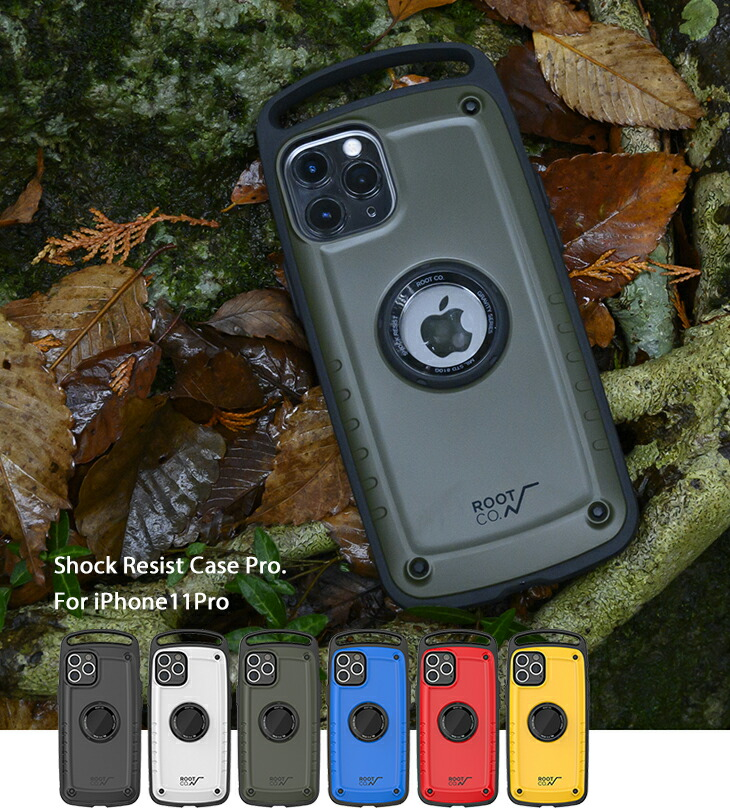 [iPhone11Pro専用] ROOT CO. Gravity Shock Resist Case Pro.