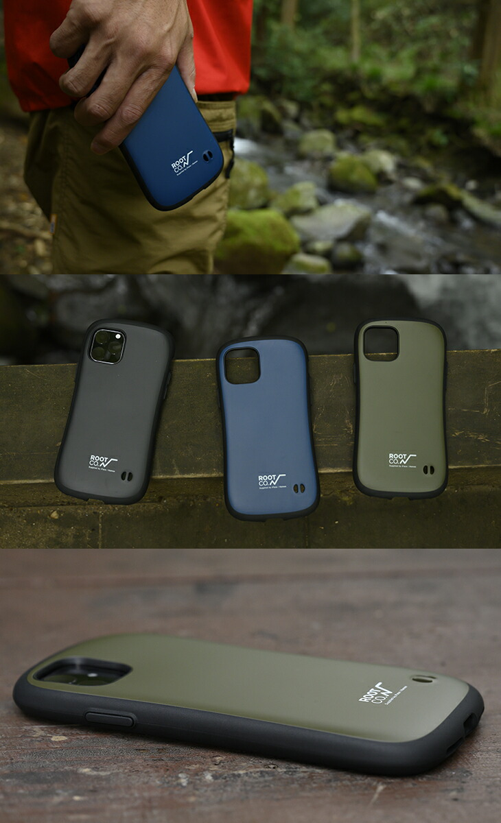 [iphone11]ROOT CO. Gravity Shock Resist Case. /ROOT CO.×iFace Model