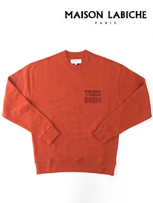 TRE BIENスウェットシャツ/クルーネック/オーガニックコットン【MAISON LABICHE/メゾンラビッシュ】
