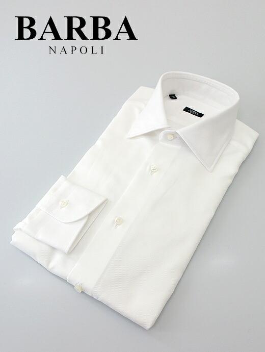 ドレスシャツ/セミワイドカラー【BARBA/バルバ】