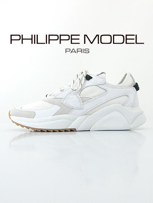 レザースニーカー/EZEWK【PHILIPPE MODEL/フィリップ・モデル】