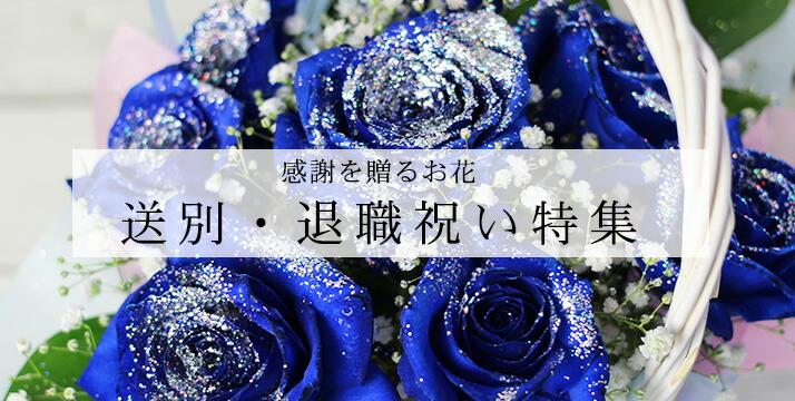 退職 送別 バラ 花 花束 贈り物