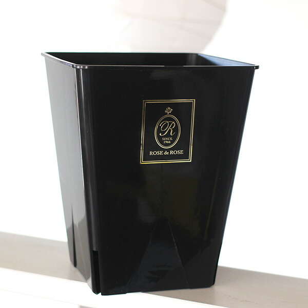 バラのためのバラ専用資材 ザ・ローズショップオリジナルの8号角鉢