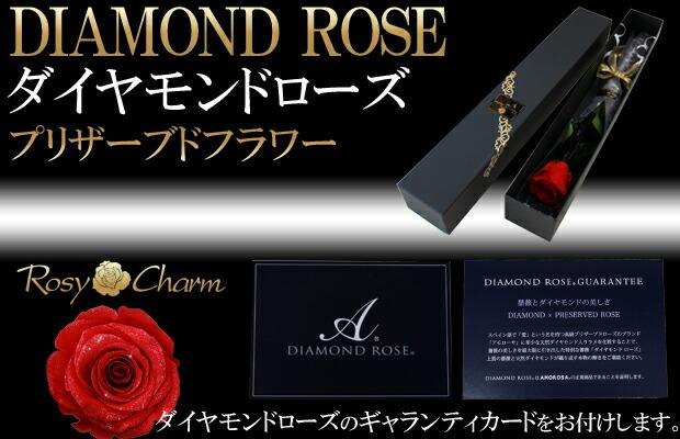 ダイヤモンドローズ 特別な贈り物