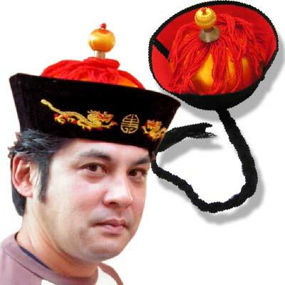 民族? 春秋?古双??刺? 皇帝帽??帽子 ??古典帽