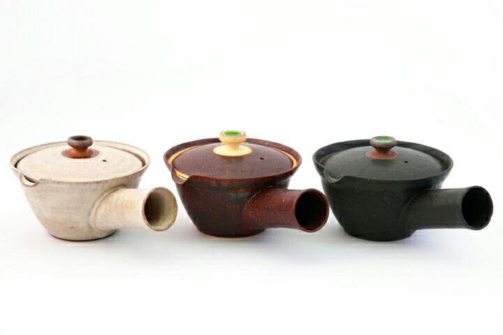 信楽焼き(しがらきやき) 新茶器 絞り出し式 急須 二人用急須 AR Piece KYU-SU FUTARI
