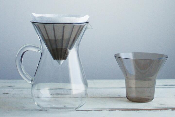 KINTO キントー コーヒーカラフェセット プラスチックブリューワー+ペーパーフィルター 600ml
