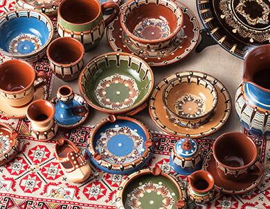 トロヤン陶器 ブルガリア伝統陶器