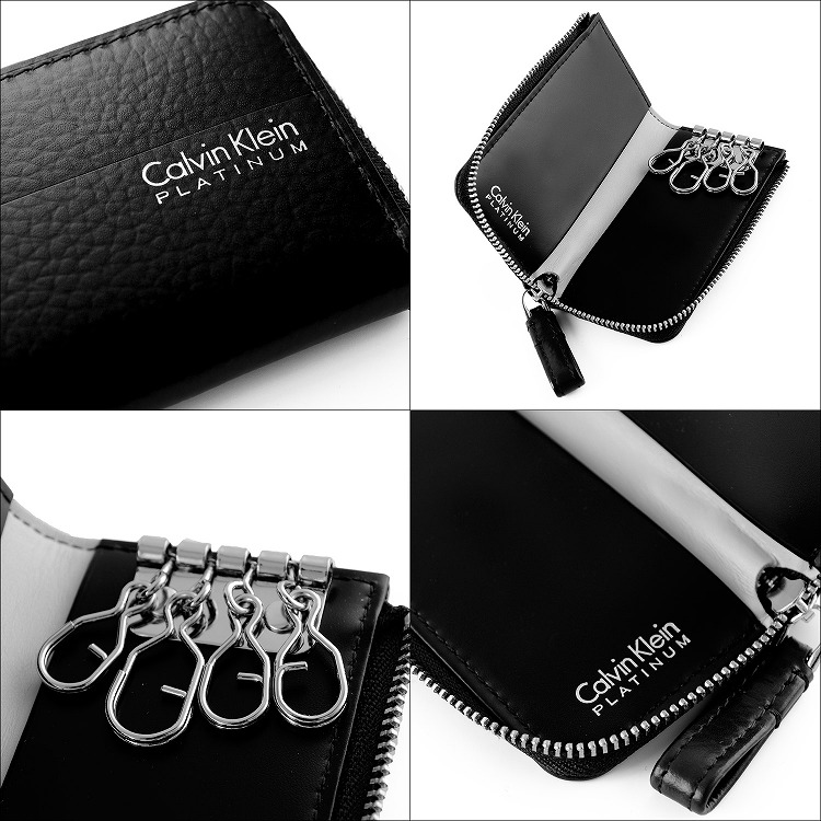 5758b09a7a00 Calvin Klein PLATINUM カルバンクラインプラティナム ヘイズ キーケース