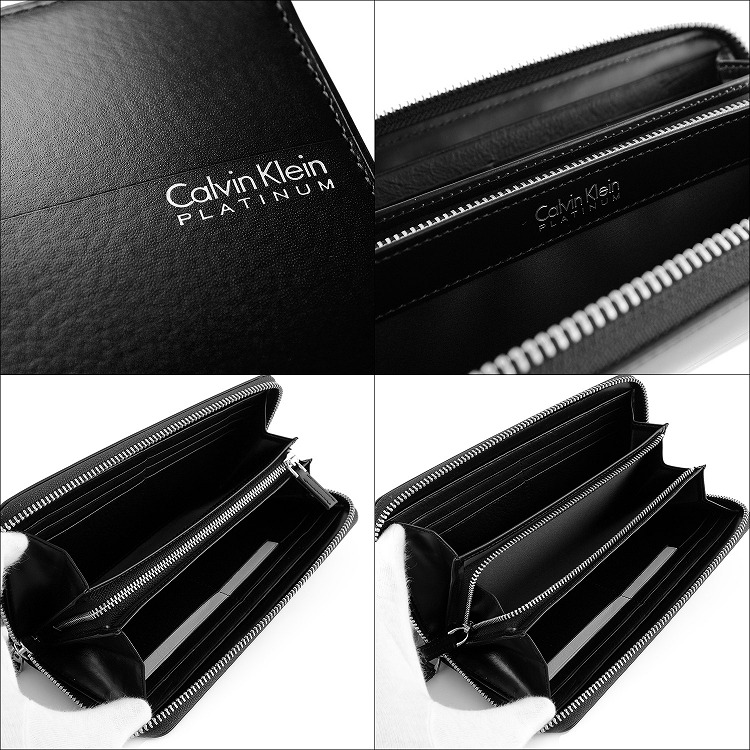 25d6c7fa66c1 Calvin Klein PLATINUM カルバンクラインプラティナム ヘイズ RF長財布
